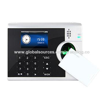 China biometric time recording from Shanghai Wholesaler