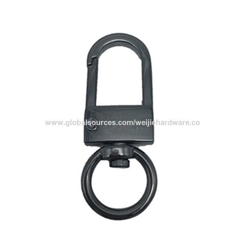 Purse Hook Key Hook,Swivel Hook Black Swivel Snap Clip Hook,Metal Lobster Hook Swivel Clasps,Trigger Snap Hooks