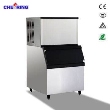 China 200KG Commercial Block Ice Maker Ice Cube Making Machine For  Supermarket Hotel