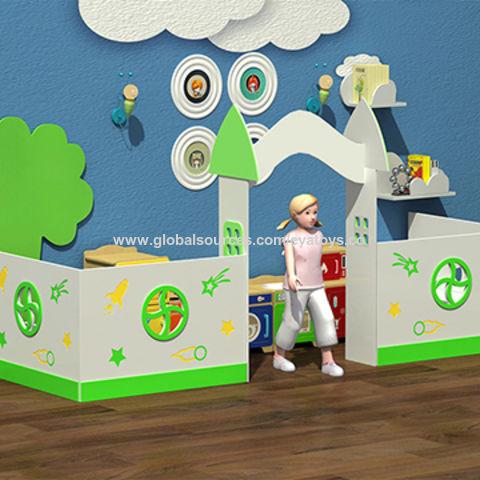 China Customize kindergarten storage shelf wooden kids toy storage ideas W08C185 ...  sc 1 st  Global Sources & China Customize kindergarten storage shelf wooden kids toy storage ...