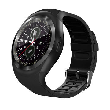 China 2018 New Y1M Smart Watch MTK 2502 BT 4 0 Supports