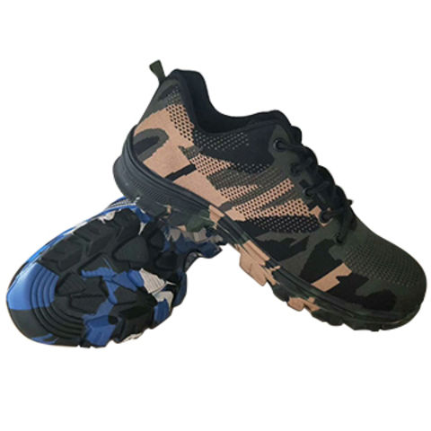 check out ce156 c2d17 China Sneaker Safety Shoes in camouflage color,dual density PU sole,working  shoes for ...