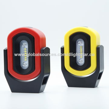 China Wireless Work Light With Position Indicator Battery Ed Rotary Magnetic Warning Lamp