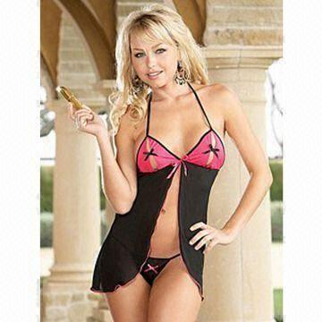 Hong Kong SAR Sexy Lingerie Underwear Sets with Lace Decoration ... 71e7f0579