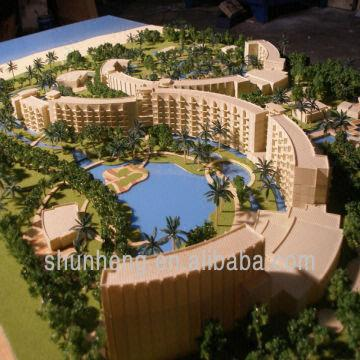 Hotel Building Modelminiature Landscape Design Sevice | Global Sources
