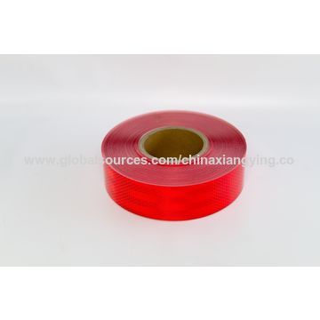 China Red Reflective Hazard Tape, Emergency for Vehicle
