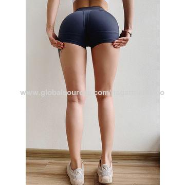 21a021b2ddc58 ... China Yoga shorts With Custom Logo Polyamide Yoga shorts in Fitness &  Yoga ...