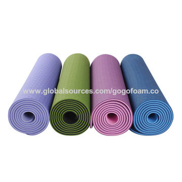 super cute fashionable patterns beautiful and charming China Foam Yoga Mat on Global Sources