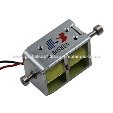 Bistable latching solenoid with 12V DC for electric car
