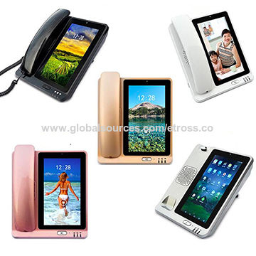 China 4G Voltage GSM Fixed Wireless Desktop Phone with Wi-Fi Hotspot