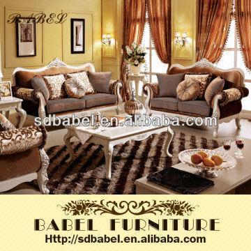 China Beautiful And Modern Fabric Sofa Set 952