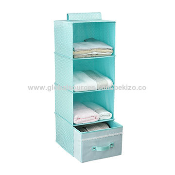 China Closet Drawer Organizer Hanging Clothes Storage For Accessory