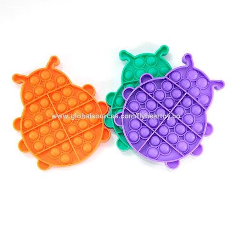 China Amazon Hot Selling Silicone Fidget Toys Push Pop Bubble Sensory Toys For Autism Children On Global Sources Push It Bubble Push It Fidget Toys Sensory Toys