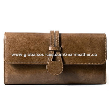f86186a9410b China Purses wholesale top quality pu leather straight panel on ...
