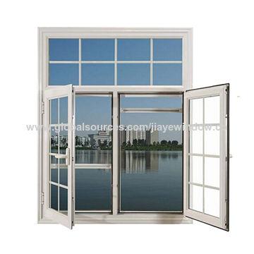 China Marco de aluminio de cristal doble Windows de Qingdao ...