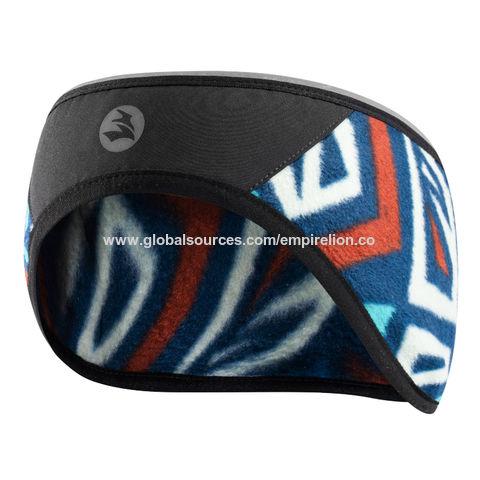 EMPIRELION Warm Polar Fleece Headband Running Thermal Windproof Reflective Ear Warmer//Muffs Helmet Friendly