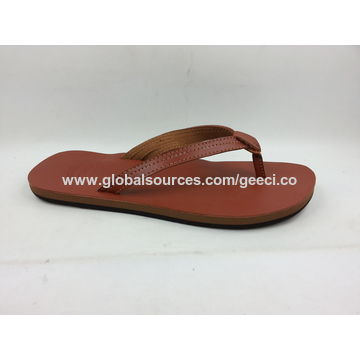 b9add7464bbd7 ... China Women s leather flip flop