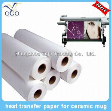 Top Quality Transfer Paper Roll Size Dye Sublimation Paper