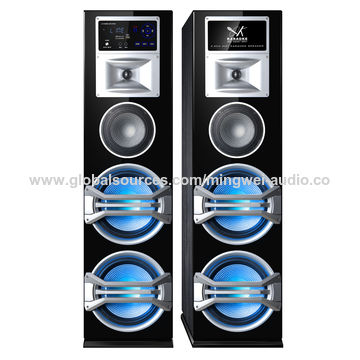 China Big bass 2.0 active Bluetooth home speaker systems with USB SD FM touch screen MW-1021