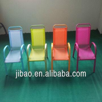 Muebles al aire libre de acero, honda de acero que apila las sillas ...