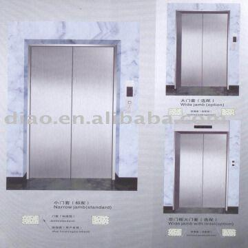 ... China DIAO landing door high quality and good looks stainless steelpainted sheet narrow & DIAO landing door: high quality and good looks stainless steel ...
