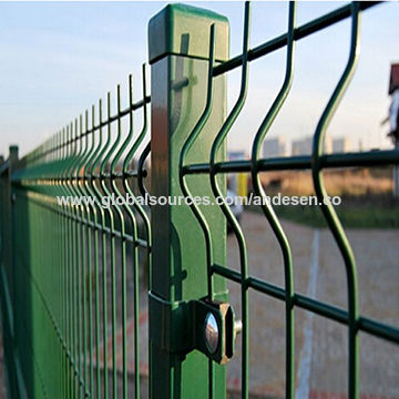 High Security 3D Triangular Wire Mesh Fence | Global Sources