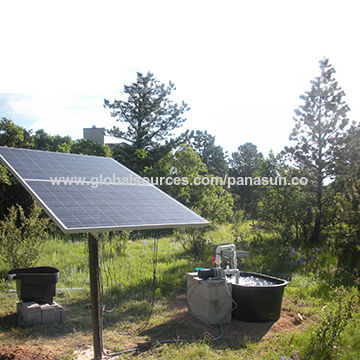 Solar Water Pump Aquaponics, Solar Powered Water Pump System