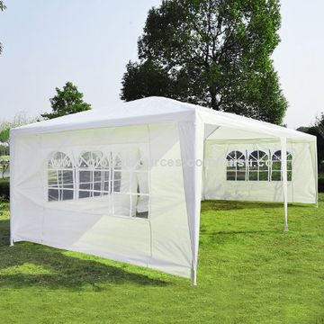 10\' x 20\' Gazebo Canopy Party Tent with 4 Removable Window Side ...
