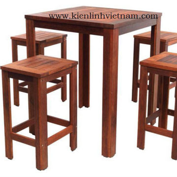 Vietnam Wooden Fsc Acacia Square Table 900mm 4 Kd Chairs 108 Usd Set