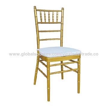 Charmant China Golden Metal Frame Chiavari Chair For Wedding Rental ...