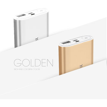 Simple and Fashionable Design 18650 Battery Mobile Power Bank