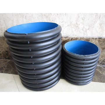Sn4 sn8 double wall HDPE pipe corrugated pipe for underground