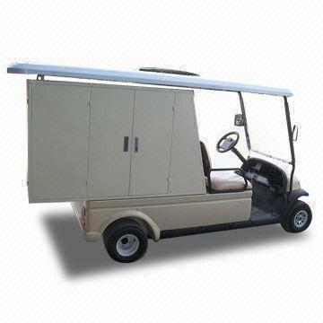 2 Seats Utility Vehicle for Hotel with Cargo Tank/3 2m