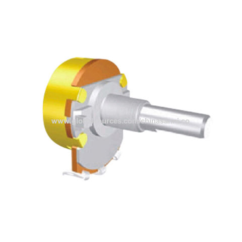 China D250K A330K CTS full shaft rotary potentiometer for