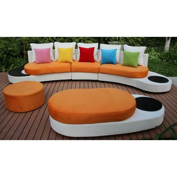 Amazing ... China New Design Half Round Sofa Furniture Mixed Colours