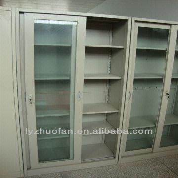 Metal Sliding Glass Door French Style Furniture Bookcase Global