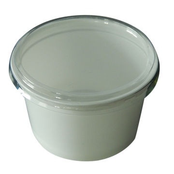 250mL Disposable Yogurt Cup or for Ice cream Soup with Lid Global