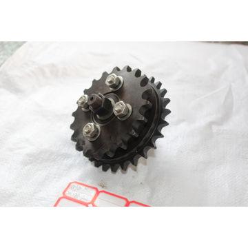 China Elevator parts double gear 20 teeth/27 teeth/bearing 6204