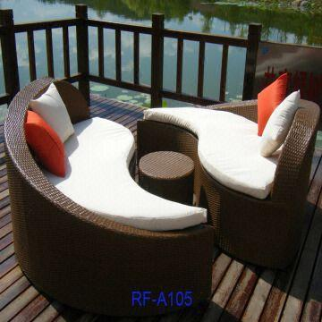 China New Rattan Furniture,wicker Furniture,outdoor Sofa,patio Furniture,aluminium  Sofa