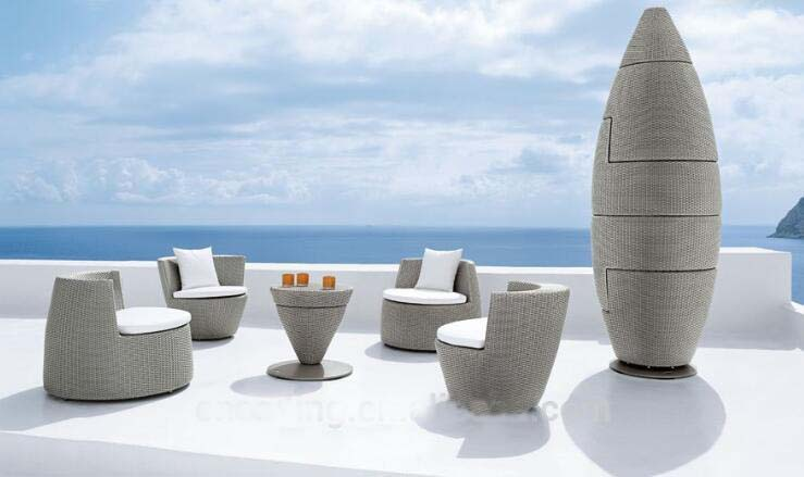vase bullet shape rattan wicker stackable furniture set global sources