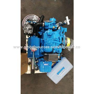 HF-2M78 2 cylinder diesel engine,boat engine, marine engine