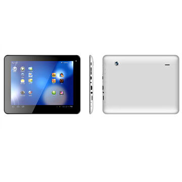 Quad-core 8-inch RK3188 Android Tablet PC, 1,024 x 768P IPS Screen