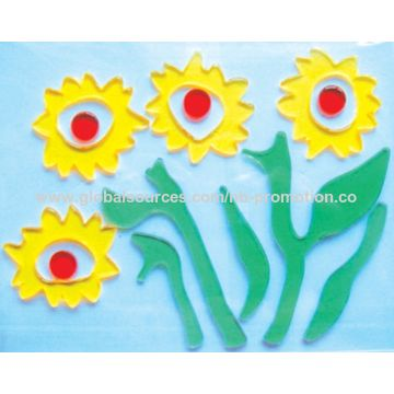 China Gel sticker for holiday decoration