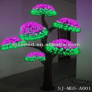 china led mushroom treeindoor christmas window lightsled holiday lighting