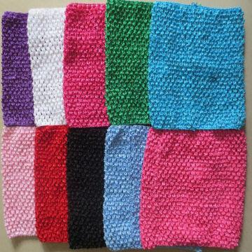 8 Girls Crochet Headband Tube Tutu Tops Are Popular And Elegant