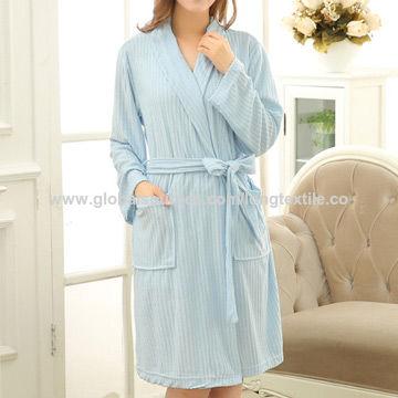 China Cotton terry women s bathrobe from Shaoxing Trading Company ... 3a303f4bf