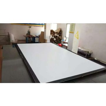 Fixed frame high-stander fiber glass projector screens for school ...