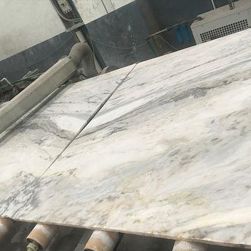 Granite Steel Storage Rack Formwork Snow White Marble