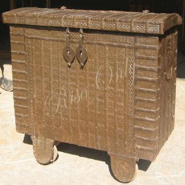 Wooden Antique Storage Trunk Chest India Wooden Antique Storage Trunk Chest