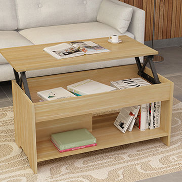 China Living Room Furniture Modern Coffee Table Design Lift Top Mdf